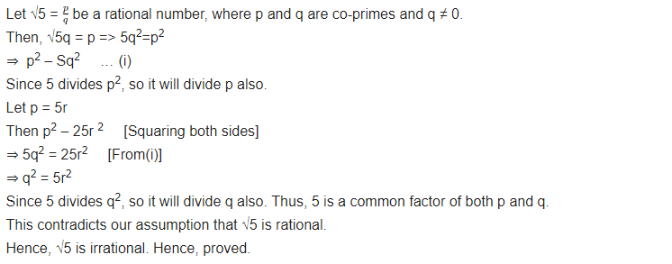 NCERT Solutions for Class 10 Maths Chapter 1 Real Numbers Ex 1.3 Q1