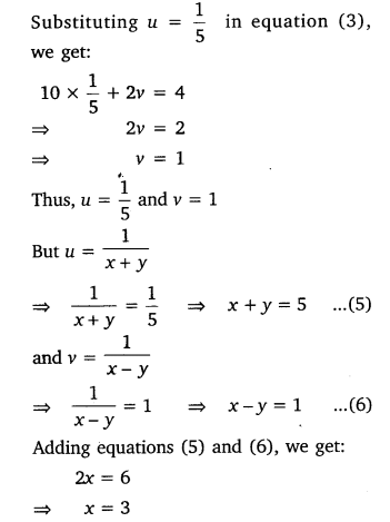 NCERT Solutions for Class 10 Maths Chapter 3 Pdf Pair Of Linear Equations In Two Variables Ex 3.6 Q1.9