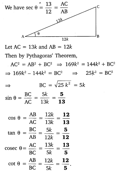 NCERT Solutions for Class 10 Maths Chapter 8 Trigonometry Exercise 8.1 Q5