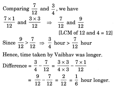 NCERT Solutions for Class 7 Maths Chapter 2 Fractions and Decimals 14