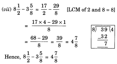 NCERT Solutions for Class 7 Maths Chapter 2 Fractions and Decimals 4