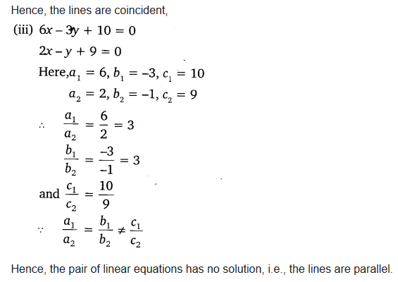 Pair Of Linear Equations In Two Variables Class 10 Maths NCERT Solutions Ex 3.2 Q2.1