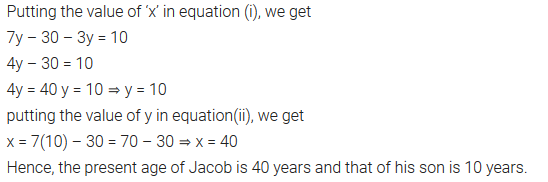 Pair Of Linear Equations In Two Variables Class 10 Maths NCERT Solutions Ex 3.3 Q3.4