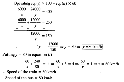 Pair Of Linear Equations In Two Variables Class 10 Maths NCERT Solutions Ex 3.6 Q2.2