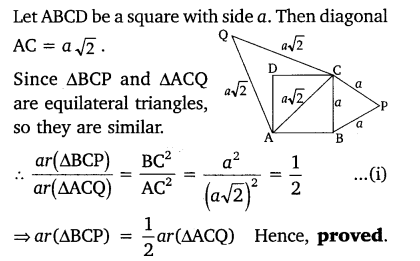 Triangles Class 10 Exercise 6.4