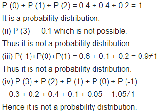 Class 12 Maths NCERT Solutions Chapter 13 Probability Ex 13.4 Q 1