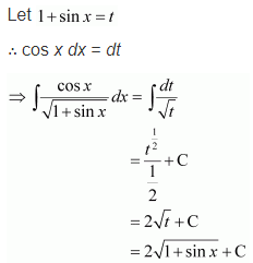 Integration Solutions class 12 Maths Chapter 7 Ex 7.2 Q 28