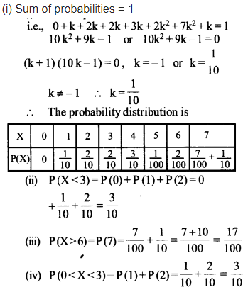 Maths NCERT Solutions Chapter 13 Probability Ex 13.4 Q 8
