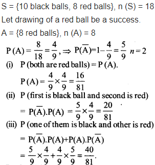 NCERT Solutions Class 12 Maths Chapter 13 Probability Ex 13.2 Q 13