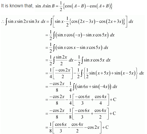 NCERT Solutions Integration Chapter 7 Ex 7.3 Q 6