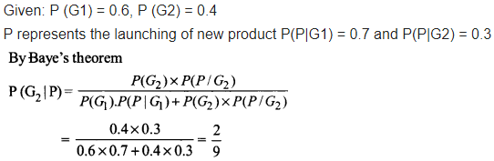NCERT Solutions for Class 12 Maths Chapter 13 Probability Ex 13.3 Q 9