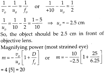 NCERT Solutions for Class 12 Physics Chapter 9 Ray Optics and Optical Instruments Q11.1