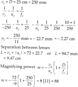 NCERT Solutions for Class 12 Physics Chapter 9 Ray Optics and Optical Instruments Q12.2