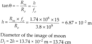 NCERT Solutions for Class 12 Physics Chapter 9 Ray Optics and Optical Instruments Q14.2