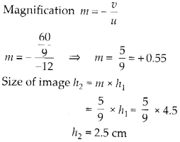 NCERT Solutions for Class 12 Physics Chapter 9 Ray Optics and Optical Instruments Q2.1