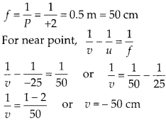 NCERT Solutions for Class 12 Physics Chapter 9 Ray Optics and Optical Instruments Q26.1