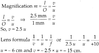 NCERT Solutions for Class 12 Physics Chapter 9 Ray Optics and Optical Instruments Q31
