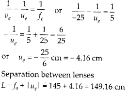 NCERT Solutions for Class 12 Physics Chapter 9 Ray Optics and Optical Instruments Q35