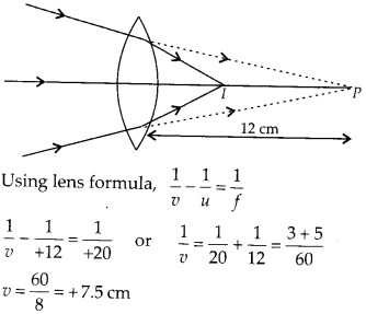 NCERT Solutions for Class 12 Physics Chapter 9 Ray Optics and Optical Instruments Q8