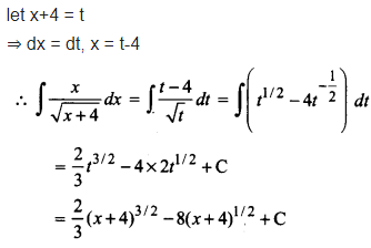 class 12 maths integration NCERT Solutions Chapter 7 Ex 7.2 Q 11