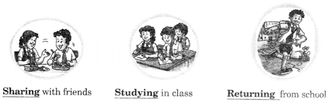NCERT Solutions for Class 2 English Chapter 1 First Day at School Lets Do Q1.1