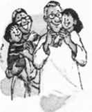 NCERT Solutions for Class 2 English Chapter 18 Granny Granny Please Comb My Hair Lets Talk Q1