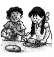 NCERT Solutions for Class 2 English Chapter 6 A Smile Fun Time Q1