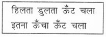 NCERT Solutions for Class 2 Hindi Chapter 1 ऊँट चला Q2