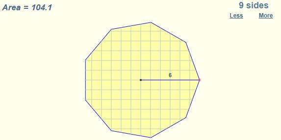 Area of Regular Polygon Formula