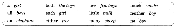 English Workbook Class 10 Solutions Unit 1 Determiners 5