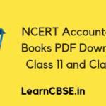 NCERT Accountancy Books