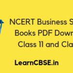 NCERT Business Studies Book