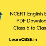 NCERT English Books
