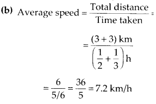 NCERT Exemplar Class 7 Science Chapter 13 Motion and Time q9