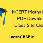NCERT Maths Books