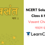NCERT Solutions for Class 6 Hindi Vasant Chapter 3 नादान दोस्त