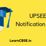 UPSEE Notification 2020