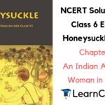 NCERT Solutions for Class 6 English Honeysuckle Prose Chapter 4 An Indian American Woman in Space