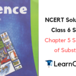 NCERT Solutions for Class 6 Science Chapter 5 Separation of Substances