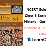 NCERT Solutions for Class 6 Social Science History Chapter 4 In the Earliest Cities