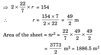 NCERT Solutions for Class 7 Maths Chapter 11 Perimeter and Area Ex 11.3 3