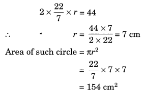 NCERT Solutions for Class 7 Maths Chapter 11 Perimeter and Area Ex 11.3 7