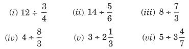 NCERT Solutions for Class 7 Maths Chapter 2 Fractions and Decimals Ex 2.4 1