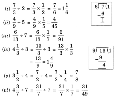 NCERT Solutions for Class 7 Maths Chapter 2 Fractions and Decimals Ex 2.4 5