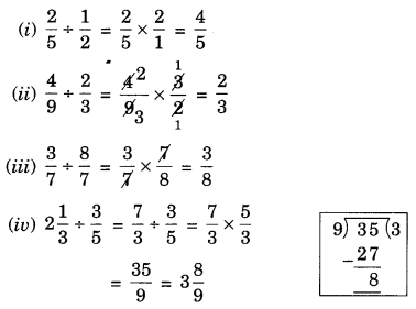 NCERT Solutions for Class 7 Maths Chapter 2 Fractions and Decimals Ex 2.4 8