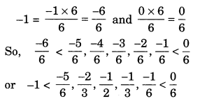 NCERT Solutions for Class 7 Maths Chapter 9 Rational Numbers 1