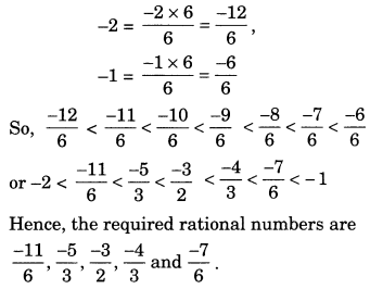 NCERT Solutions for Class 7 Maths Chapter 9 Rational Numbers 2