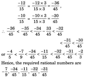 NCERT Solutions for Class 7 Maths Chapter 9 Rational Numbers 4