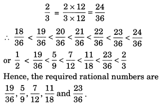 NCERT Solutions for Class 7 Maths Chapter 9 Rational Numbers 6