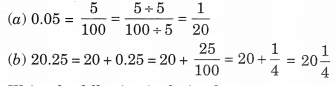 Decimals Class 6 Extra Questions Maths Chapter 8